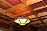 Pleather Inset Ceiling