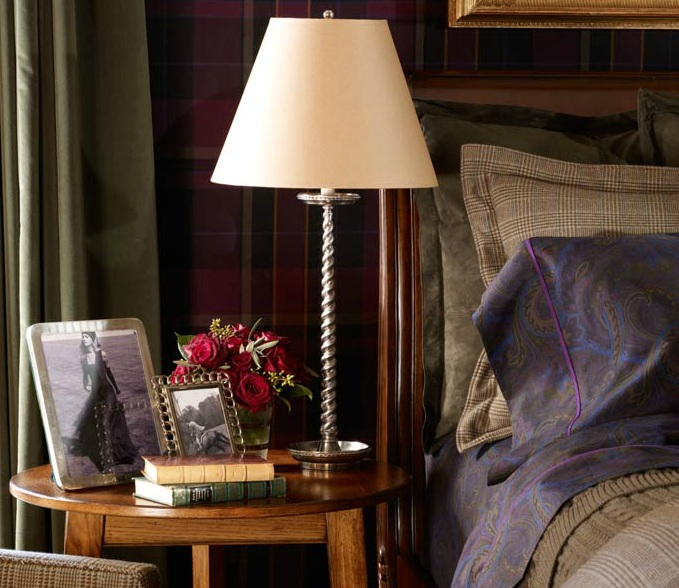Tune in this winter to the flannel channel rad plaids for Ralph lauren home designs