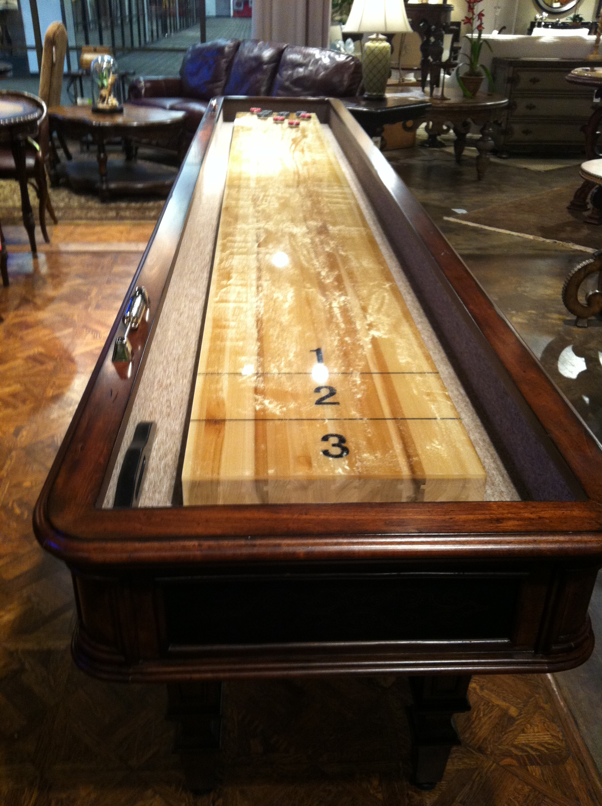 DIY Shuffleboard Table Plans Download Wooden PDF Small